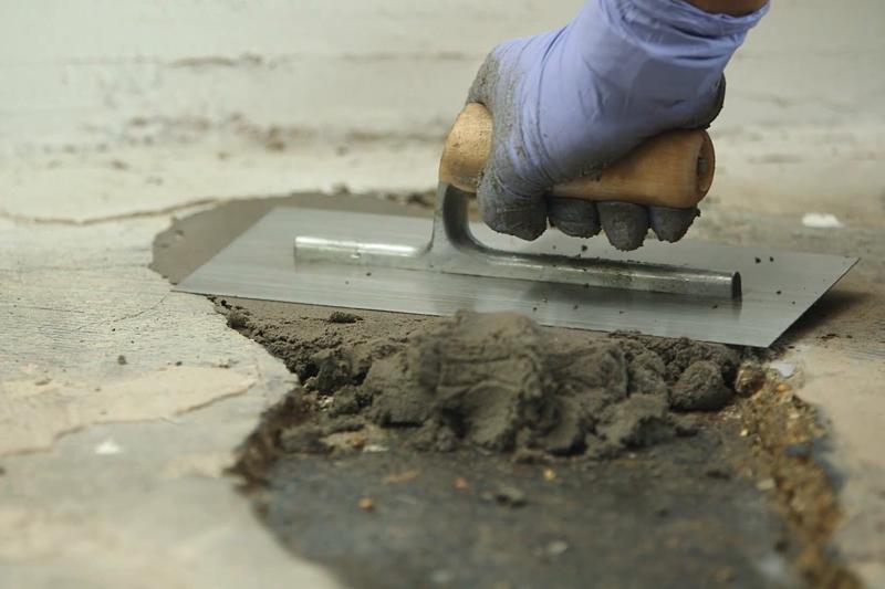 Шпатлевание бетона бетон шоссейная